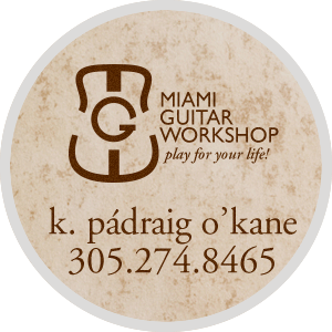 contact me for miami's best guitar lessons